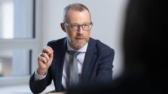 Ändert vieles, rüttelt aber nicht an der Genossenschaftsstruktur Raiffeisen-Chef Heinz Huber. (2)