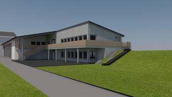 Anstelle des in die Jahre gekommenen Kindergartens Waldrüti will die Gemeinde Othmarsingen mit einem Anbau an die Turnhalle auf dem Areal des Schulhauses Zelgli einen Doppelkindergarten erstellen.