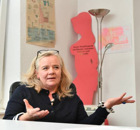Weiss noch nicht, wie sie Betriebe nach dem erneuten Arbeitsverbot, das am Donnerstag verordnet wurde, unterstützen kann: Melanie Muñoz.