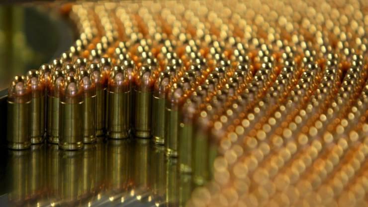 Vor allem Munition soll die Ruag fleissig in den Golfstaat Katar liefern.