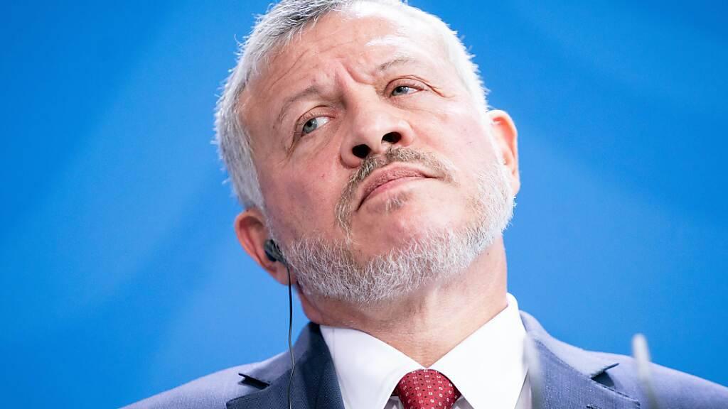 Mutmassliches Komplott in Jordanien: König empfindet Schock und Wut