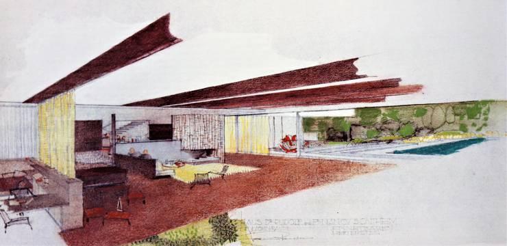 Weitere Pläne der Villa Sontheim, die der Architekt 1964 am Hertenstein für den damaligen BBC-Direktor Rudolf Sontheim entwarf.
