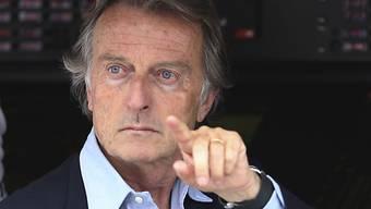 Ferrari-Präsident Luca di Montezemolo droht nicht zum ersten Mal