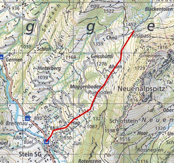 Die interaktive Karte von Schweizmobil findet ihr hier.