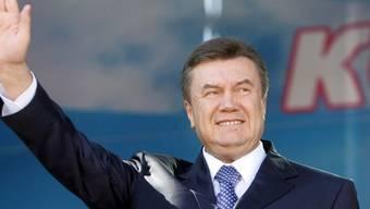 Der ehemalige ukrainische Staatschef Viktor Janukowitsch ist in Abwesenheit zu 13 Jahren Haft verurteilt worden. (Archivbild)