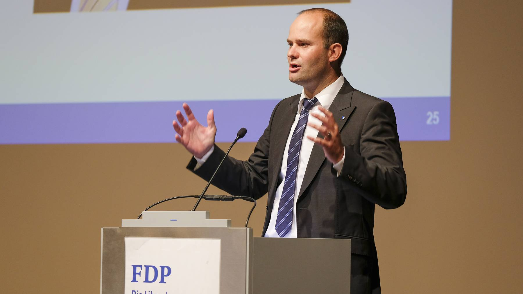 FDP Luzern nominiert Fabian Peter