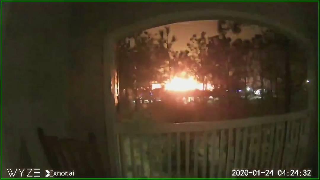 Heftige Explosion in Houston reisst halbe Stadt aus dem Schlaf