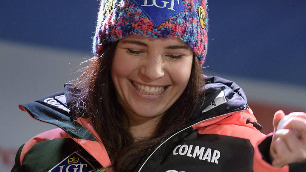 Tina Weirather startet beflügelt in den Olympia-Winter