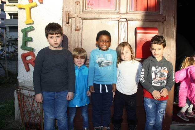 Für die Kinder des Hortes Zentral, Dietikon, gehört das Kasperlitheater Potztuusig schon zur Tradition: Jedes Jahr statten sie dem Theater am Samichlaus-Tag einen Besuch ab.