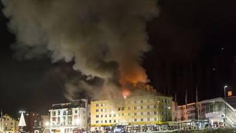 Die Brandursache beim Aroser Posthotel konnte nicht geklärt werden. Die Ermittlungen wurden nach über zwei Jahren eingestellt.