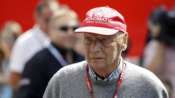 Noch ist unklar, wann Formel-1-Legende Niki Lauda an die Rennstrecke zurückkehrt