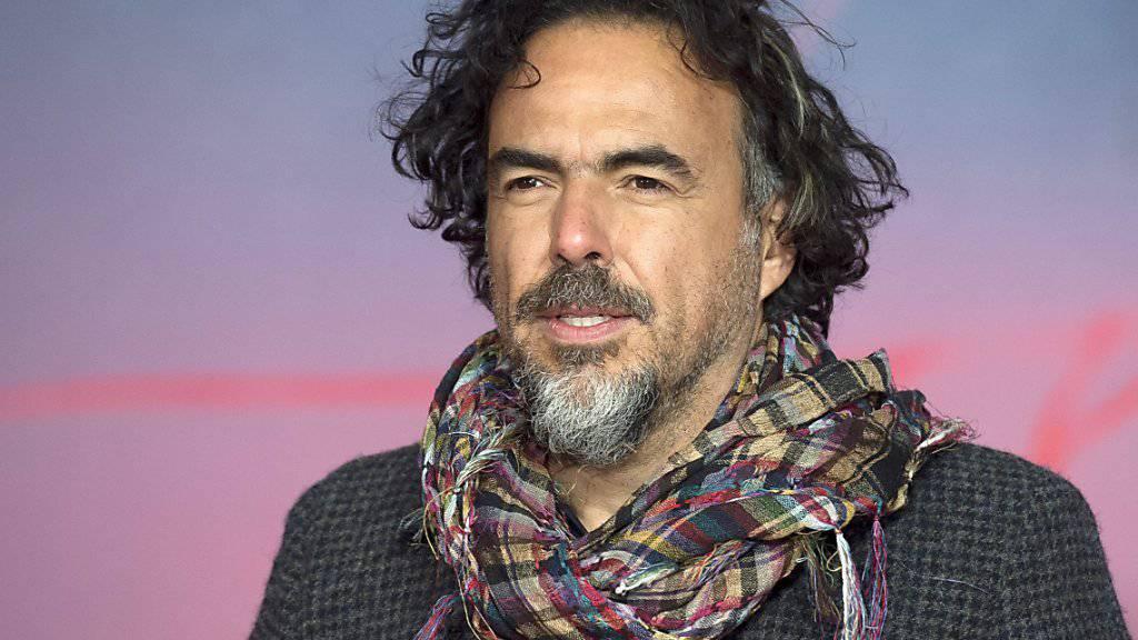 Der Oscar-Preisträger Alejandro Gonzalez Inarritu will mit einer Wanderausstellung an eine der schlimmsten Flüchtlingsboot-Havarien erinnern. (Archivbild)