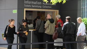 Pro Tag besuchen zwischen 3000 und 4000 Personen die Van-Gogh-Ausstellung.
