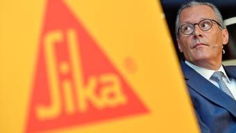 Nach langen Verhandlungen ist der Streit bei Sika vom Tisch. Sika-Präsident Hälg hatte den entsprechenden Plan skizziert.