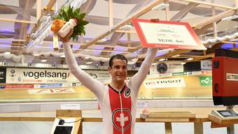 Claudio Imhof Stundenrekord Velodrome Grenchen