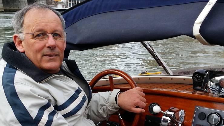 Eine Fahrt mit Grossrat Eduard Rutschmann gefällig? Als ehemaliger Bootschef der Grenzwache ist er ein Kapitän mit grosser Erfahrung.