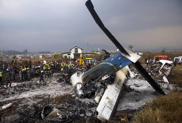 Flugzeugabsturz Kathmandu
