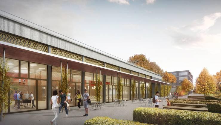 Sekundarstufenzentrum Burghalde, fällt zwischen 2018 und 2021 mit 92 Mio. an.
