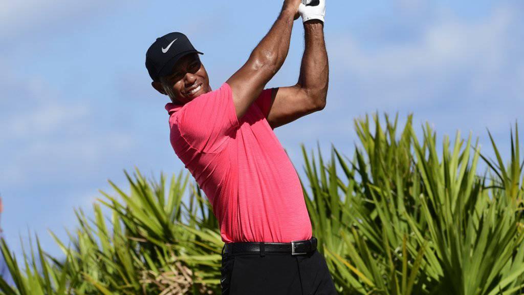 Tiger Woods will wieder so häufig spielen wie in seinen besten Jahren