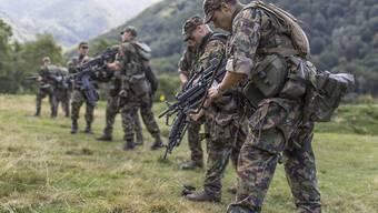 Die Schweiz hat in der Armee rund einen Drittel Secondos. (Archiv).