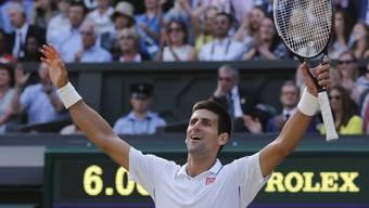 Final von Wimbledon: Federer gegen Djokovic