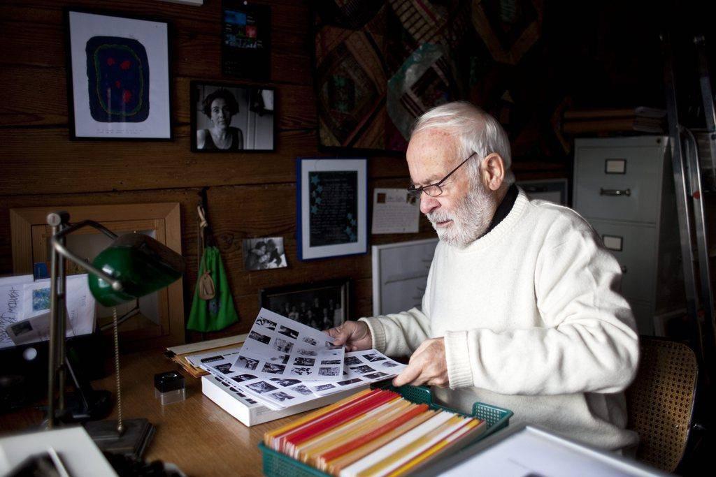 Herbert Mäder im Jahr 2010.