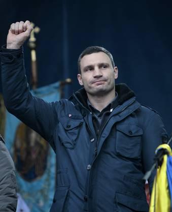 Vitali Klitschko, Boxweltmeister und ukrainischer Abgeordneter.