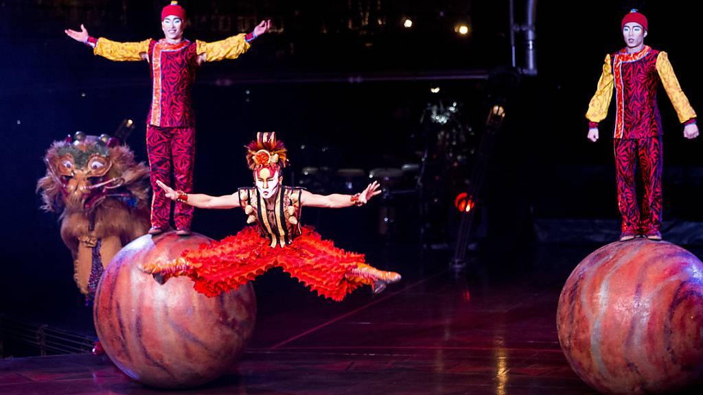 Cirque du Soleil lässt Insolvenz hinter sich