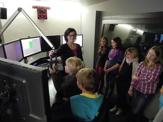 Besuch beim Radio  (2)