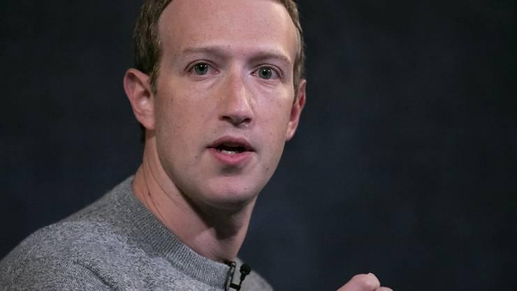 Mark Zuckerberg, Vorstandsvorsitzender von Facebook, im Herbst vergangenen Jahres bei einem Auftritt in New York. Foto: Mark Lennihan/AP/dpa