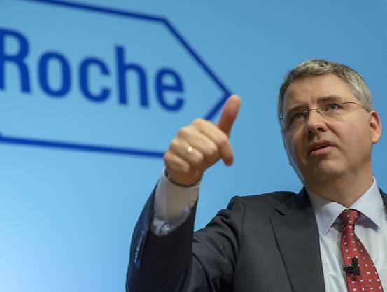 Roche-Chef Severin Schwan.