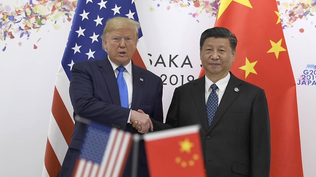 Neuer Schlagabtausch zwischen den USA und China