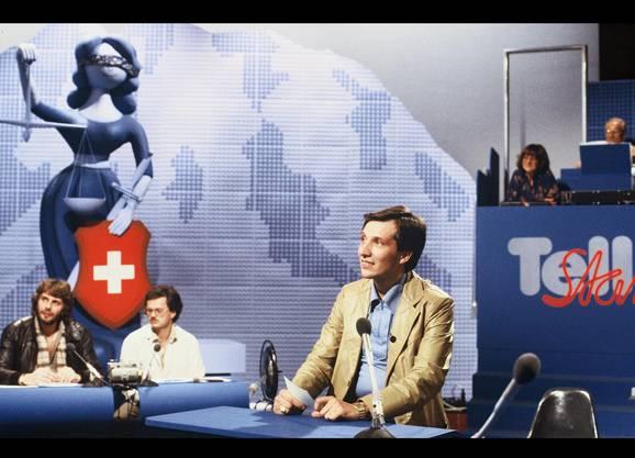 Der Montagabend ist nicht der allerbeste Sendeplatz. Umso erstaunlicher, welche Resonanz Beni Thurnheer mit seiner Quizsendung, die von 1980 bis 1991 lief, erreichte. Den Bestwert erzielte er am 21. Dezember 1987 mit 1,523 Millionen Fernsehzuschauern.