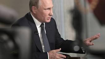 Putin nach seinem Treffen mit Trump in Helsinki Mitte Juli. Nun will der US-Präsident seinen russischen Amtskollegen doch nicht im Herbst erneut treffen.
