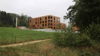 Maturand Lukas Nussbaumer nahm die Quartiere Bornfeld (im Bild) und Meierhof aus raumplanerischer Sicht unter die Lupe. Bko