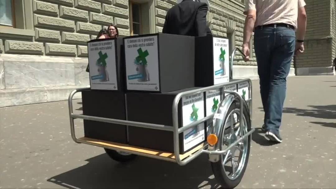 """Apotheker reichen Petition """"Auch morgen medizinisch gut umsorgt"""" ein"""