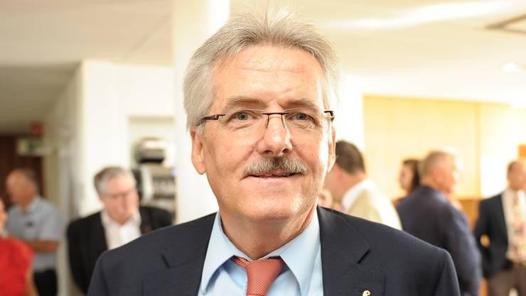 «Es liegt von allen vier Kandidierenden eine substanzielle Zahlung in die Kasse des Komitees vor – auch von CVP-Regierungsrat Anton Lauber.» Oskar Kämpfer SVP-Präsident BL und Wahlkampfleiter