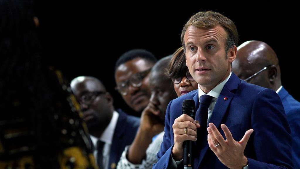Macron: Massaker von Paris 1961 unverzeihliches Verbrechen