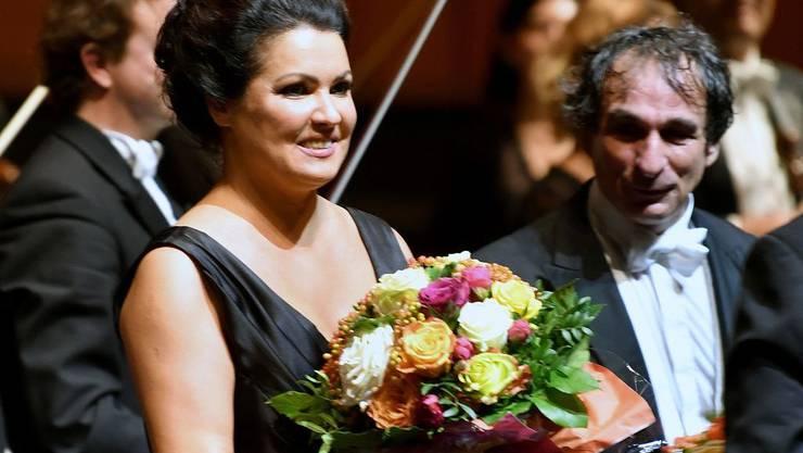 """Anna Netrebko, hier bei den Salzburger Festspielen 2019, hat ihr Debüt bei den Bayreuther Festspielen """"erschöpfungsbedingt"""" abgesagt. (Archiv)"""