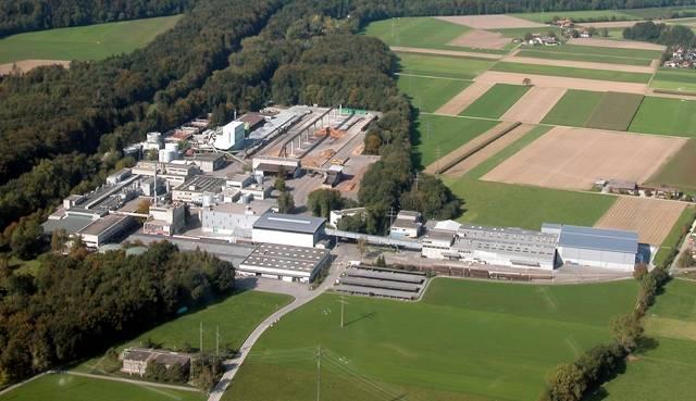 Das Areal der Papierfabrik.