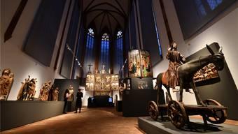 Der Chor der Barfikirche wurde unter Direktor Fehlmann neu eingerichtet.