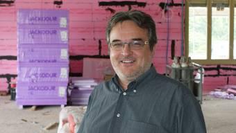 Jean-Paul Schnegg: Der Geschäftsleiter der MBF ist ständig auf der Neubaustelle präsent. (ach)