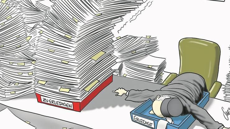 Die Staatsanwälte müssen ihre Fälle besser managen, damit der Pendenzenberg abgetragen werden kann.