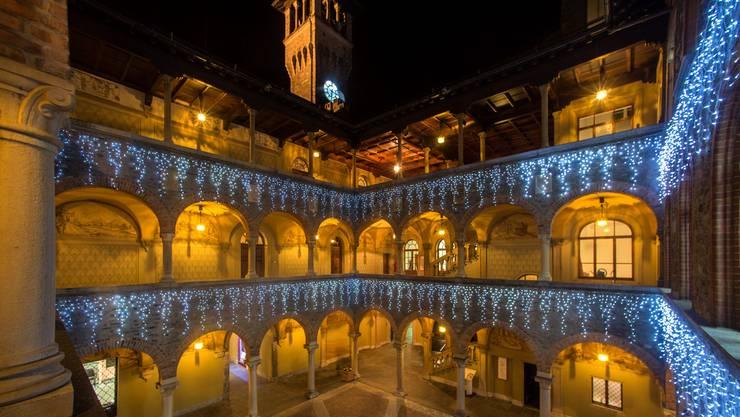 Das Rathaus in Bellinzona 2015.