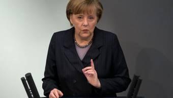 Die deutsche Kanzlerin Merkel übte harsche Kritik an Moskau
