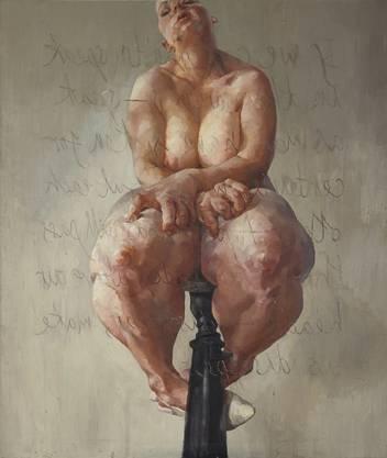 """Jenny Saville: """"Propped"""" ist das teuerste Werk einer lebenden Künstlerin."""