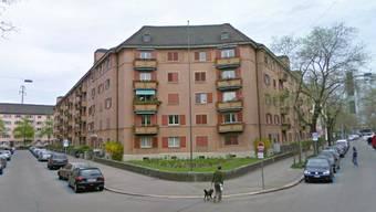 Der «Rote Block» an der Ecke Albertstrasse/Röntgenstrasse.