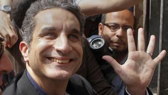Der ägyptische Fernsehmoderator Bassem Jussef in Kairo