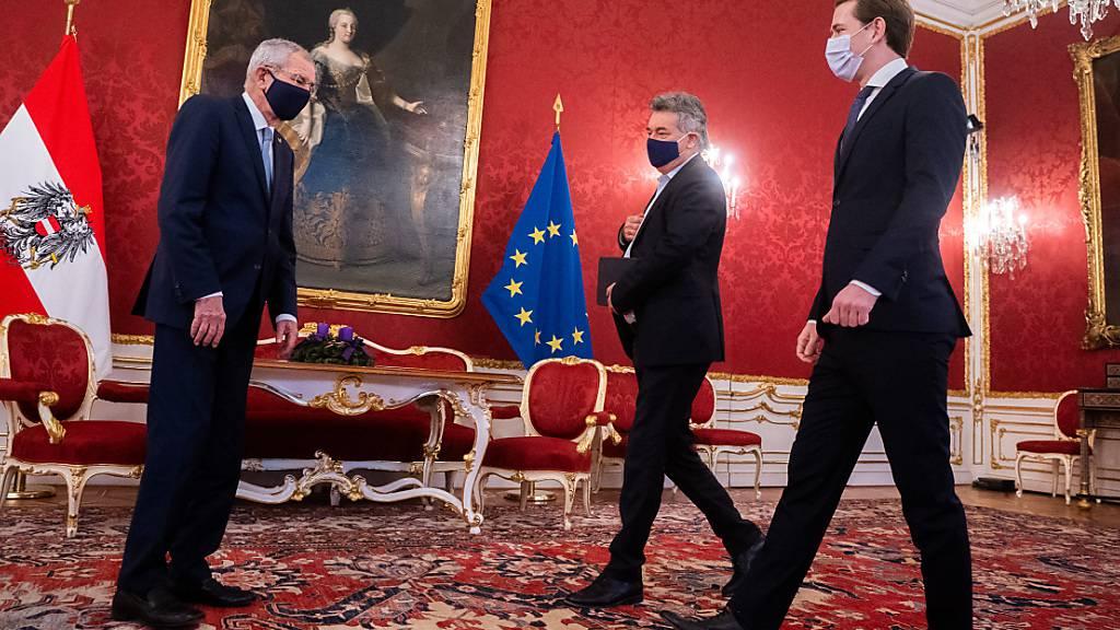 Ein Jahr neue Regierung in Wien: Grüne mit zwiespältiger Bilanz