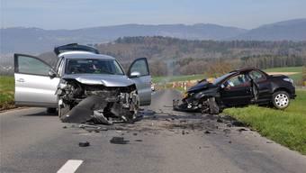 10. April 2015: Schwere Kollision bei Schnottwil – nun ein Gerichtsfall. Archiv
